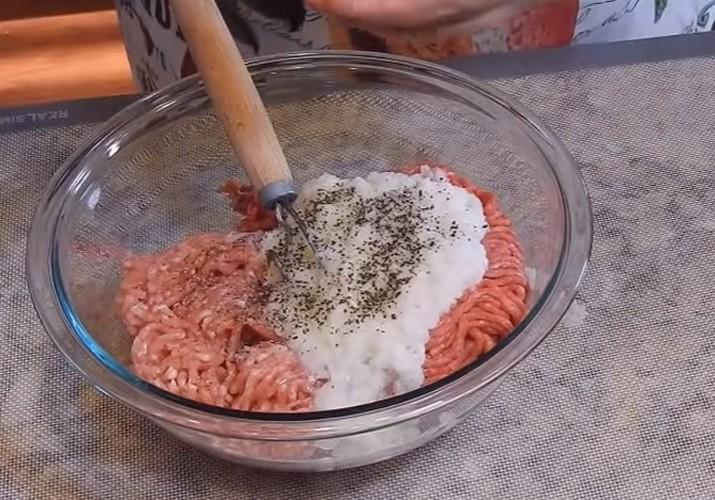 беляши с мясом