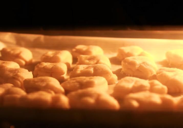 творожное печенье в духовке