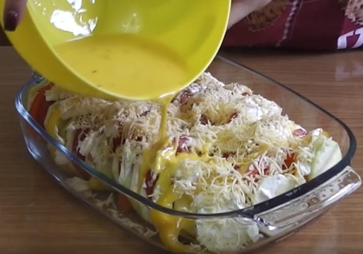 Кабачки с помидорами и сыром Сулугуни - рецепт пошаговый с фото