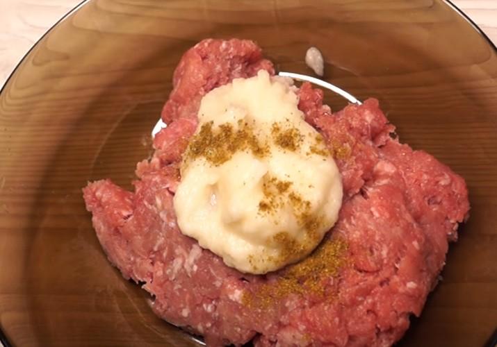шанежки с мясом