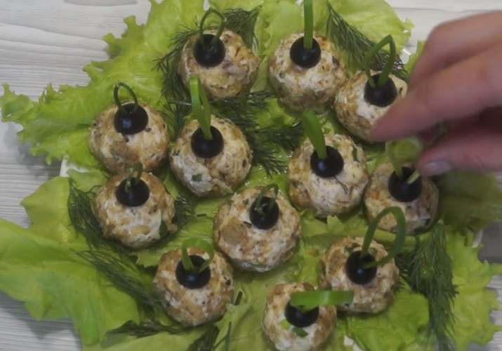 закуска елочные шары