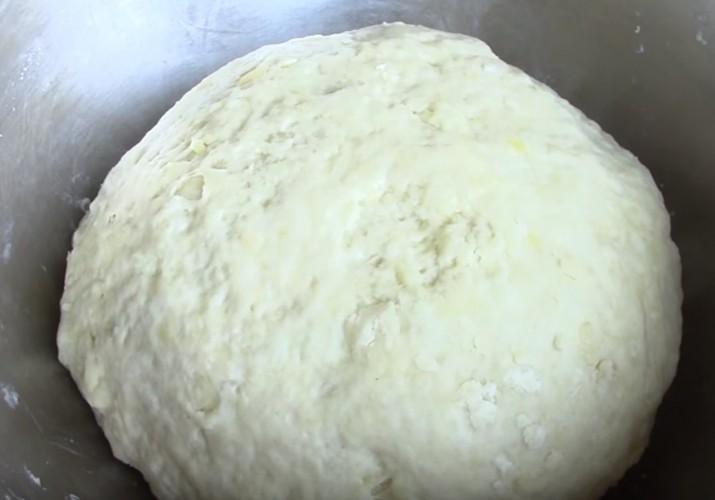 Постный пирог с картошкой