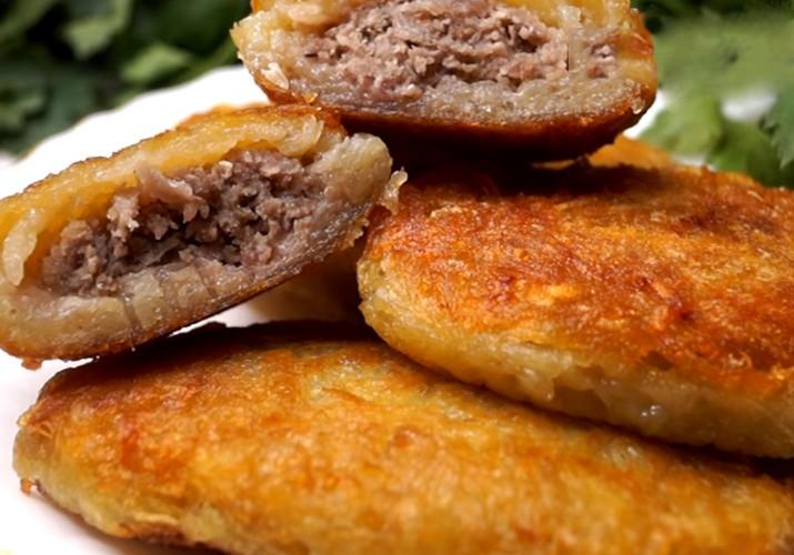 Ландорики из картофеля с фаршем