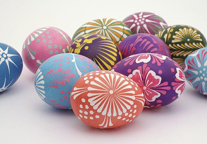 Пасхальная роспись яиц - писанки