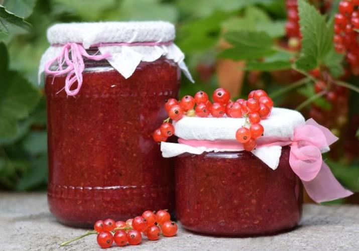 Варенье из красной смородины 5 минутка