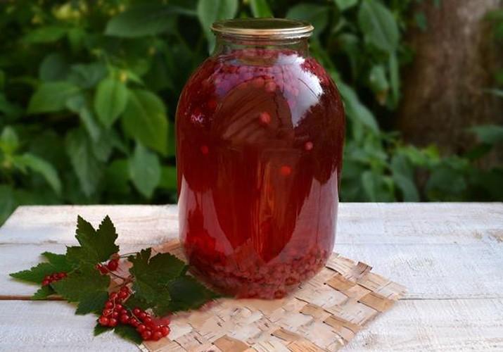 Компот из красной смородины рецепт на 3 литровую банку