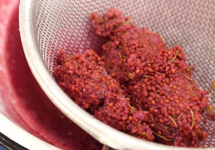 жмых красной смородины