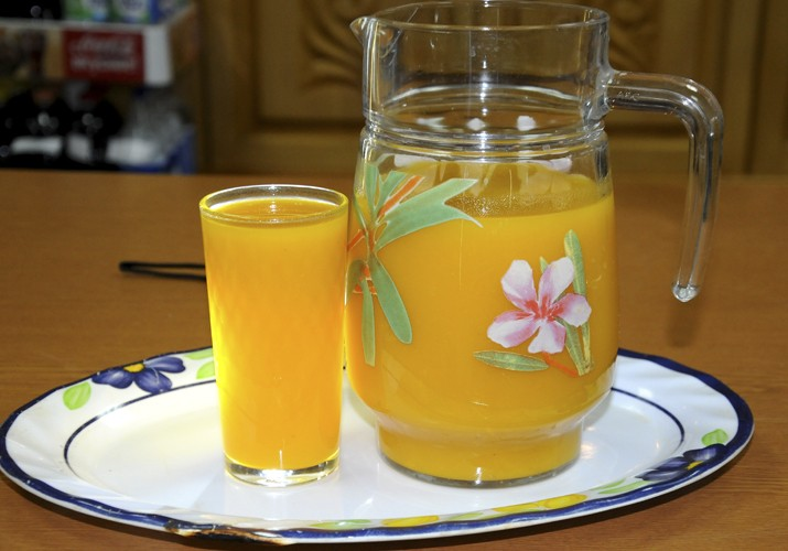 Сок из тыквы на зиму