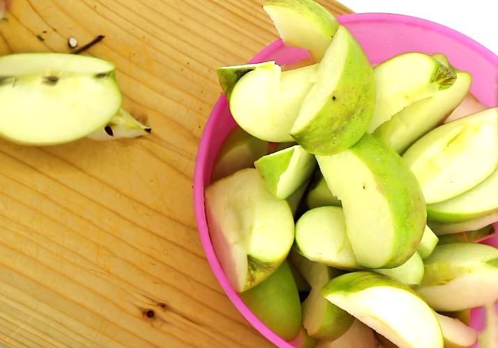 Сок из тыквы и яблока