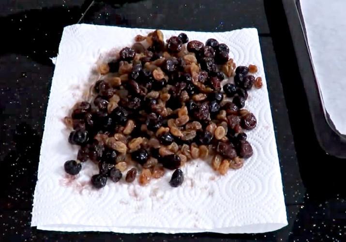 начинка из сухофруктов и ягод