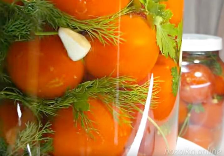 малосольные помидоры в банке