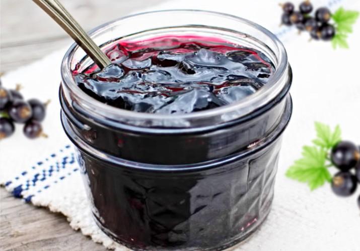 варенье из черной смородины 5 минутка желеобразное