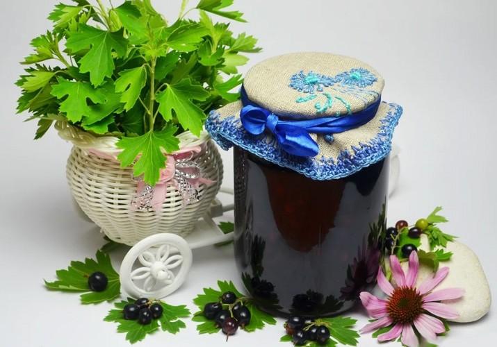 варенье из черной смородины классический рецепт