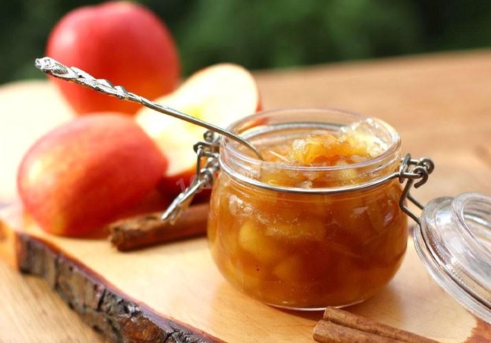 варенье из яблок дольками янтарное