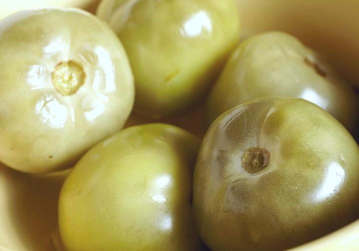 зеленые помидоры маринованные как в магазине