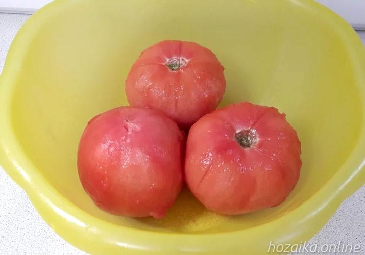 помидоры без шкурки