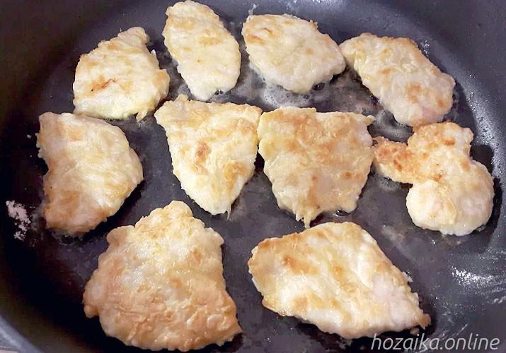 куриные отбивные в кляре на сковороде