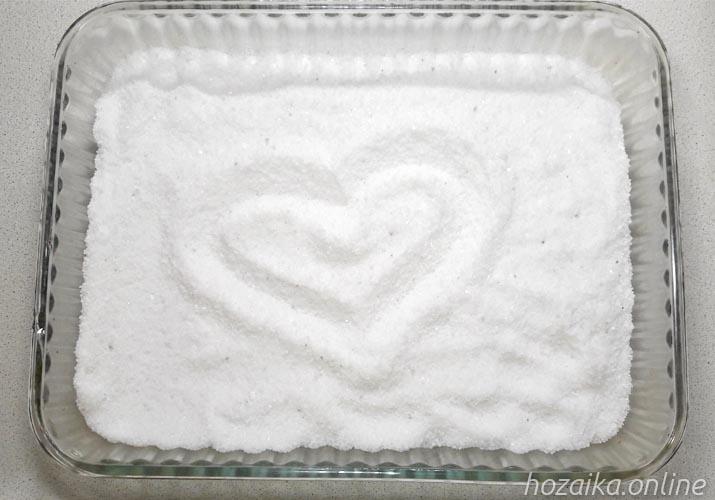 соль в форме для запекания