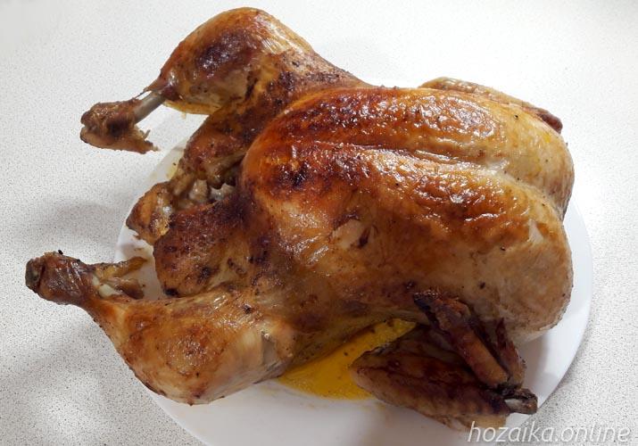 курица целая в пакете для запекания