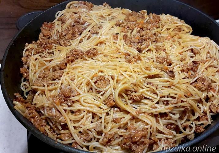 спагетти болоньезе по классическому рецепту