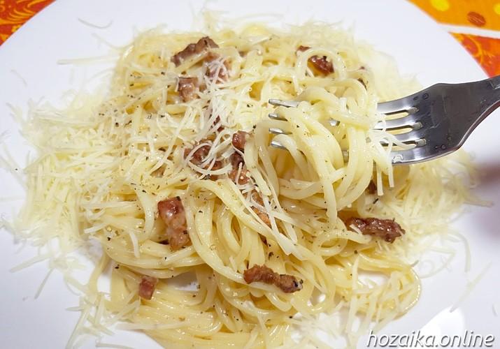спагетти карбонара классический итальянский рецепт