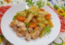 курица с картошкой в рукаве - самый вкусный рецепт