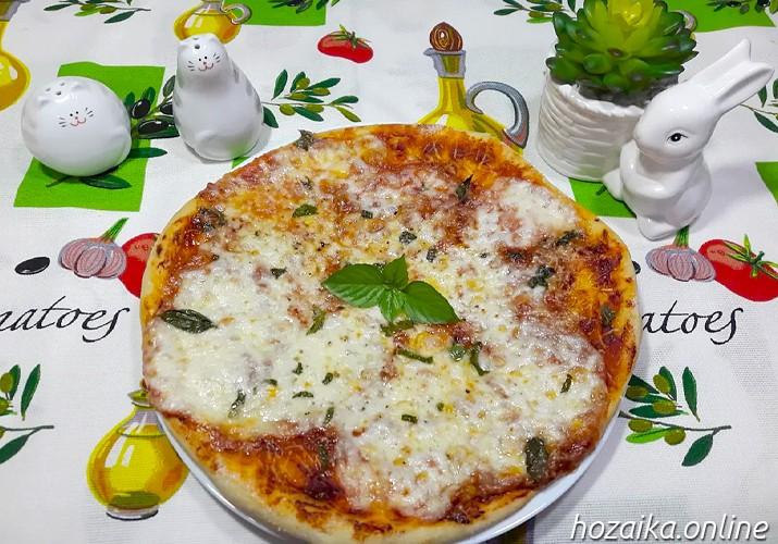 пицца Маргарита - классический итальянский рецепт