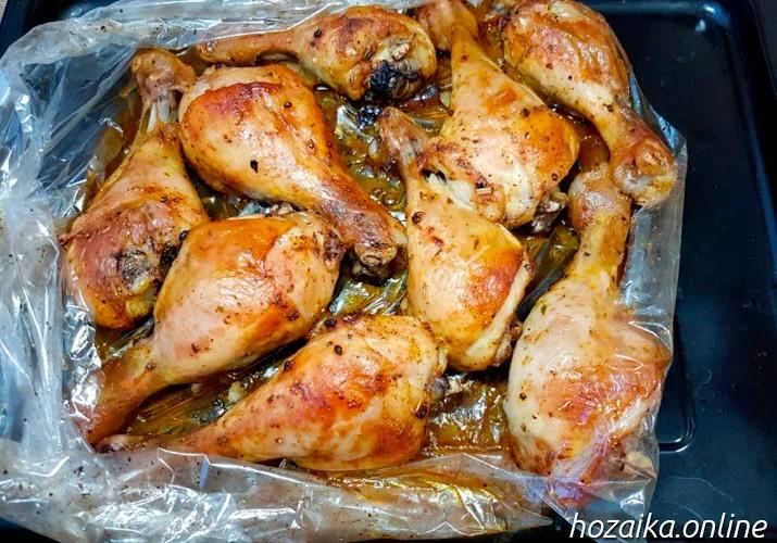 самые вкусные куриные ножки в духовке