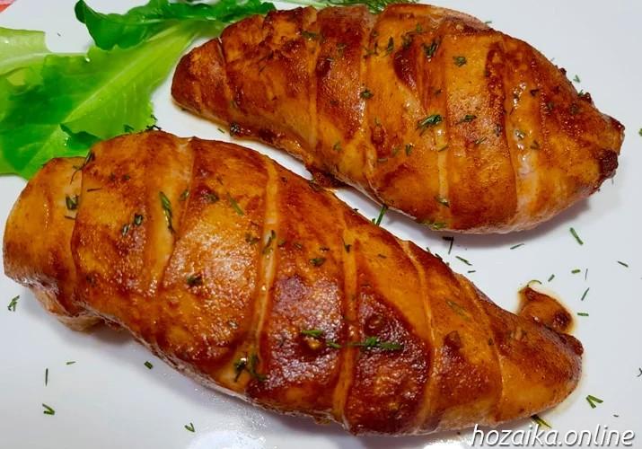 самое вкусное куриное филе в духовке