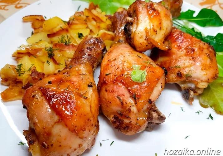 куриные голени в духовке - самый вкусный рецепт