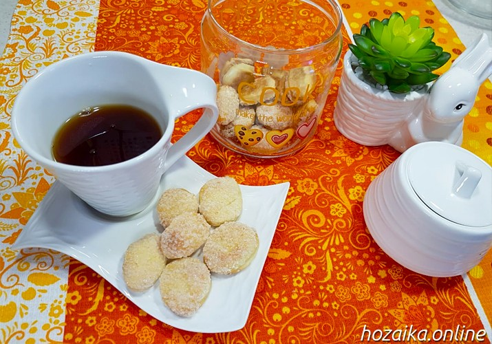 печенье на кефире с сахаром на скорую руку