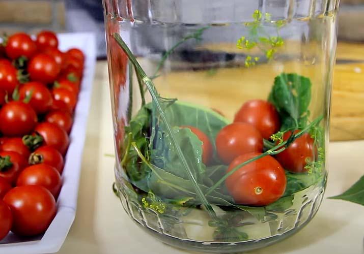 томаты черри маринованные пальчики оближешь