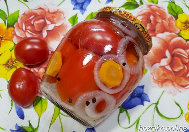 томаты черри за зиму в банках в маринаде