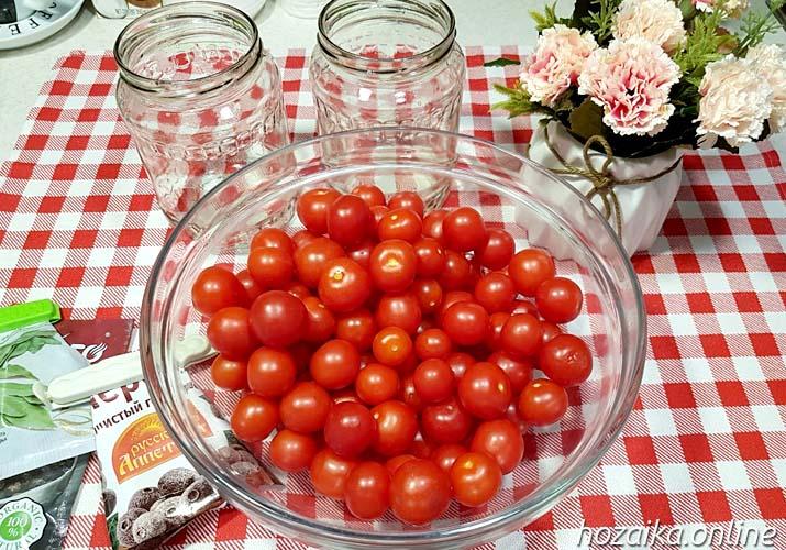 томаты черри для маринования сладкие