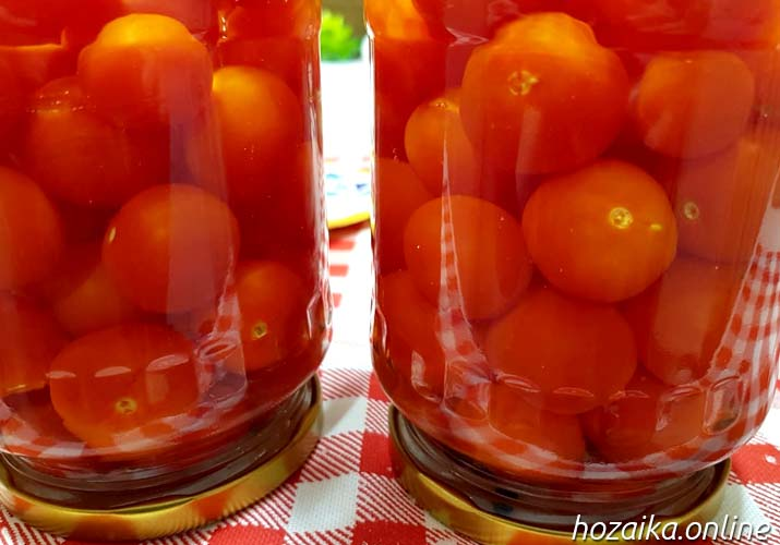 томаты черри маринованные ну очень вкусные и сладкие