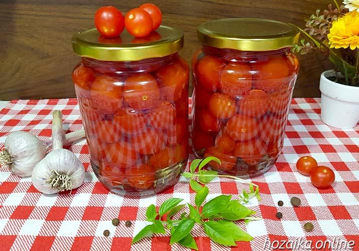 маринованные помидоры черри сладкие и вкусные