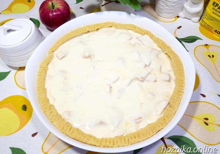 заготовка - цветаевский пирог