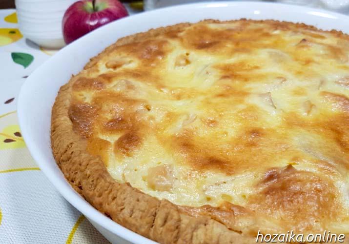 готовый цветаевский яблочный пирог