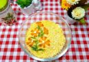 Мимоза с рисом классический рецепт