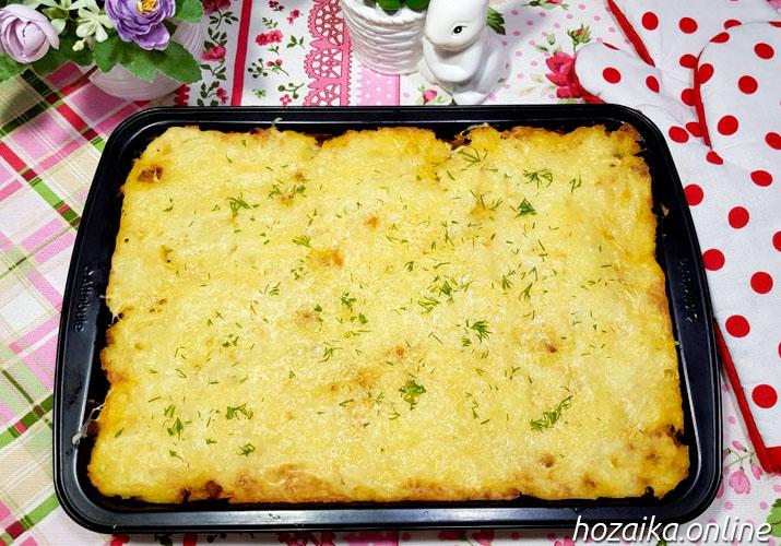картофельная запеканка классическая