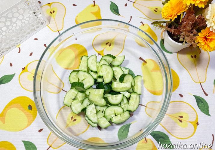 огурцы для классического греческого салата