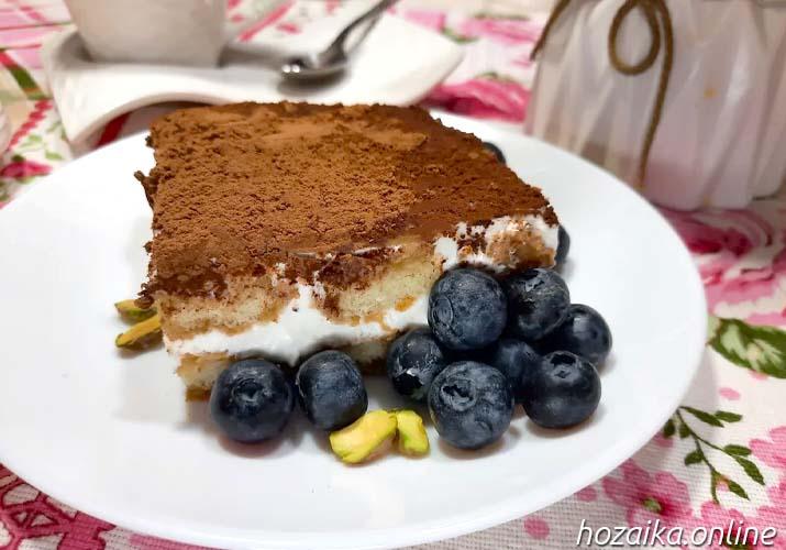 тирамису десерт без яиц