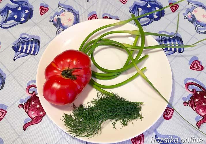 овощи для омлета